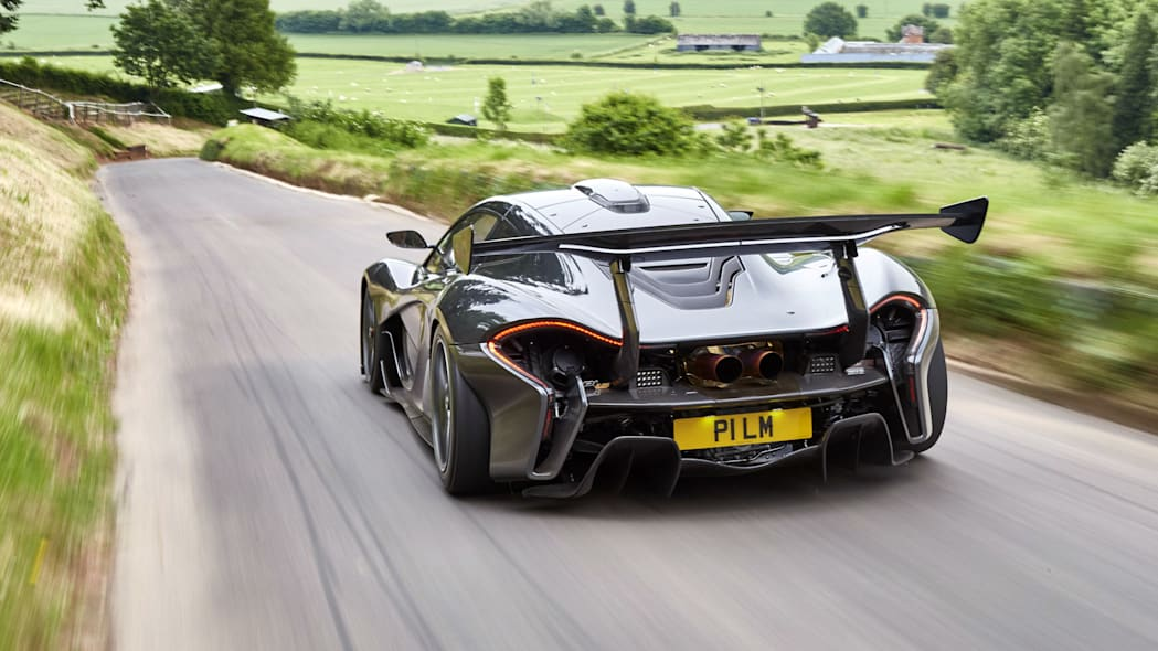 McLaren P1 LM by Lanzante rear 3/4