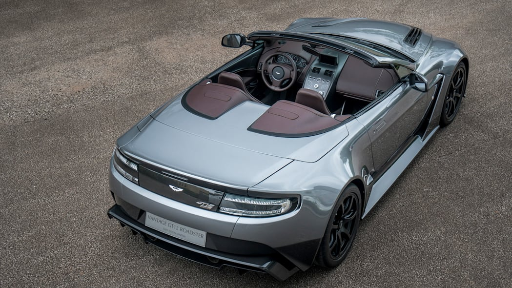 Aston Martin Vantage GT12 by Q rear overview