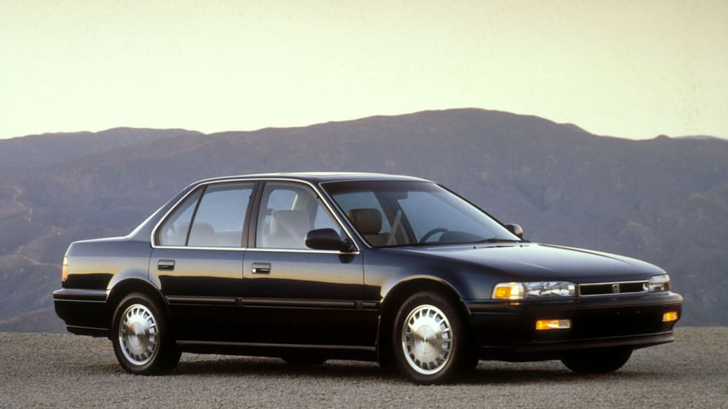 1991 Honda Accord Front Side Exterior