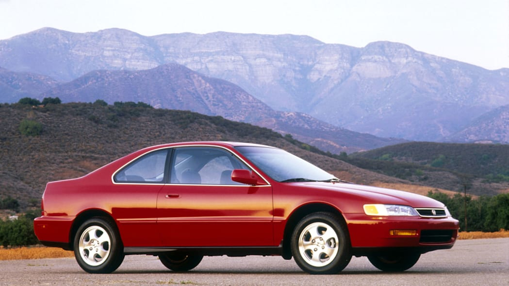 1997 Honda Accord Coupe Side Exterior
