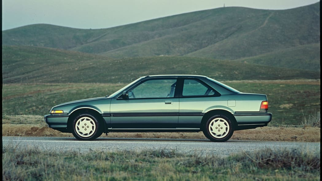 1985 Honda Accord Coupe Side Exterior