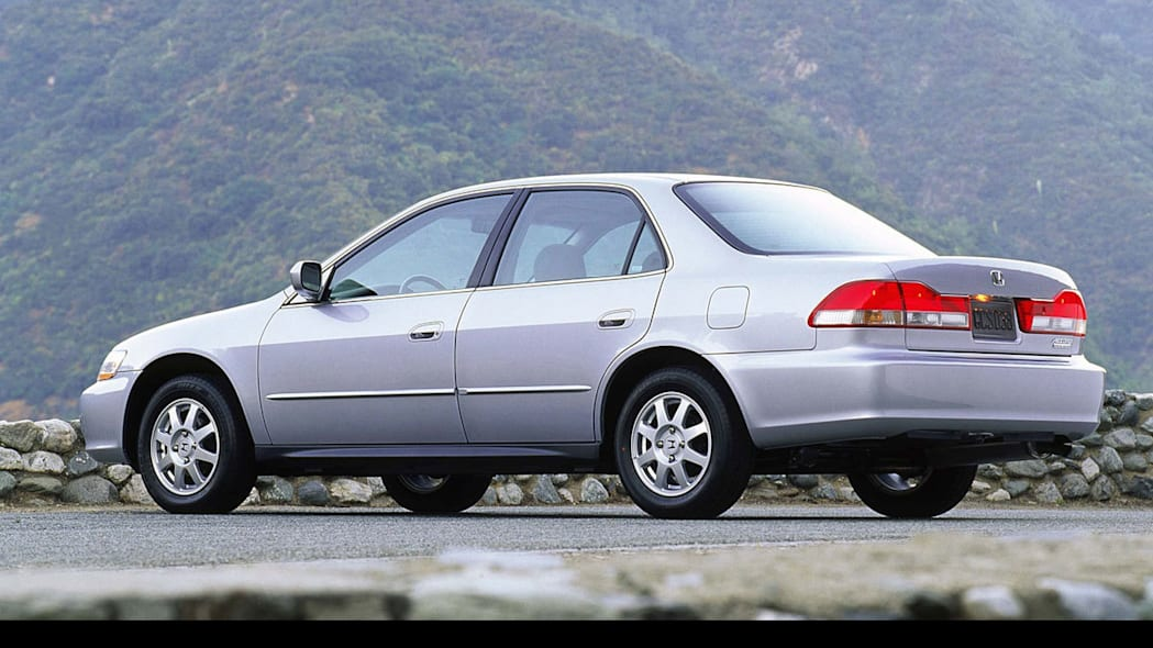 2002 Honda Accord Sedan Side Exterior