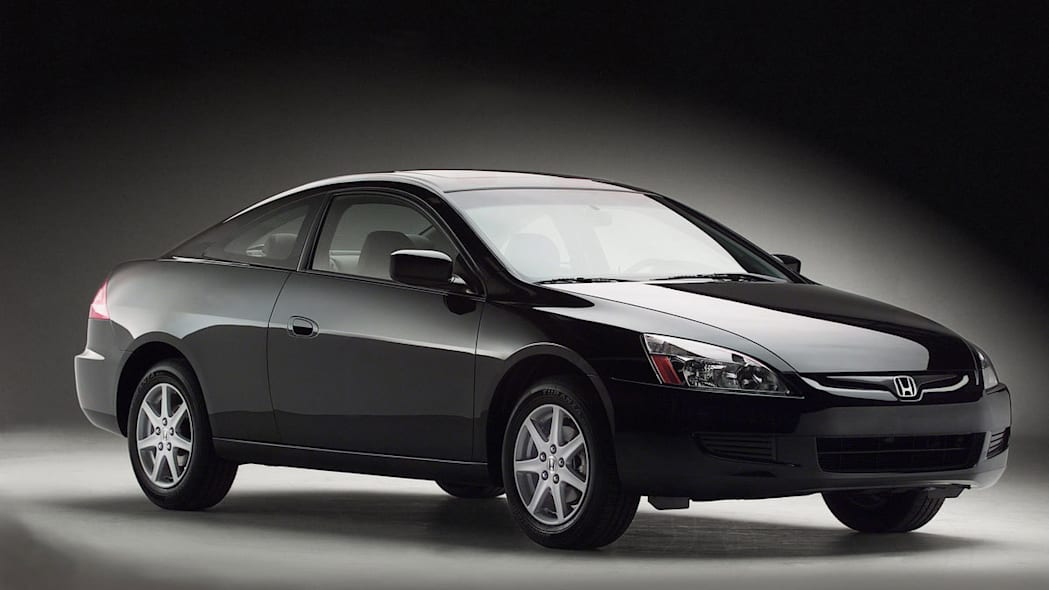 2004 Honda Accord Coupe Front Exterior