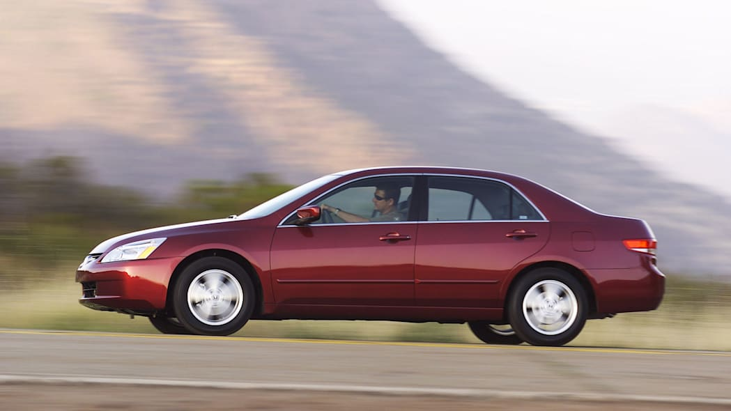 2004 Honda Accord Sedan Side Exterior