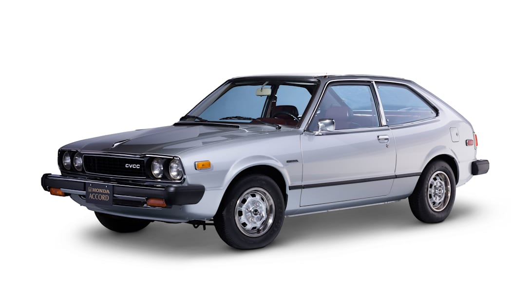 1976 Honda Accord Hatchback Front Side Exterior