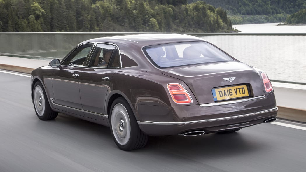 2017 Bentley Mulsanne driving