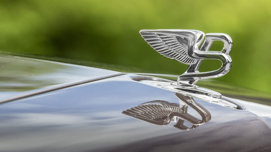 2017 Bentley Mulsanne hood ornament