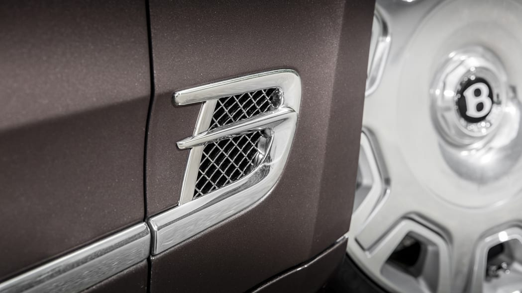 2017 Bentley Mulsanne side trim