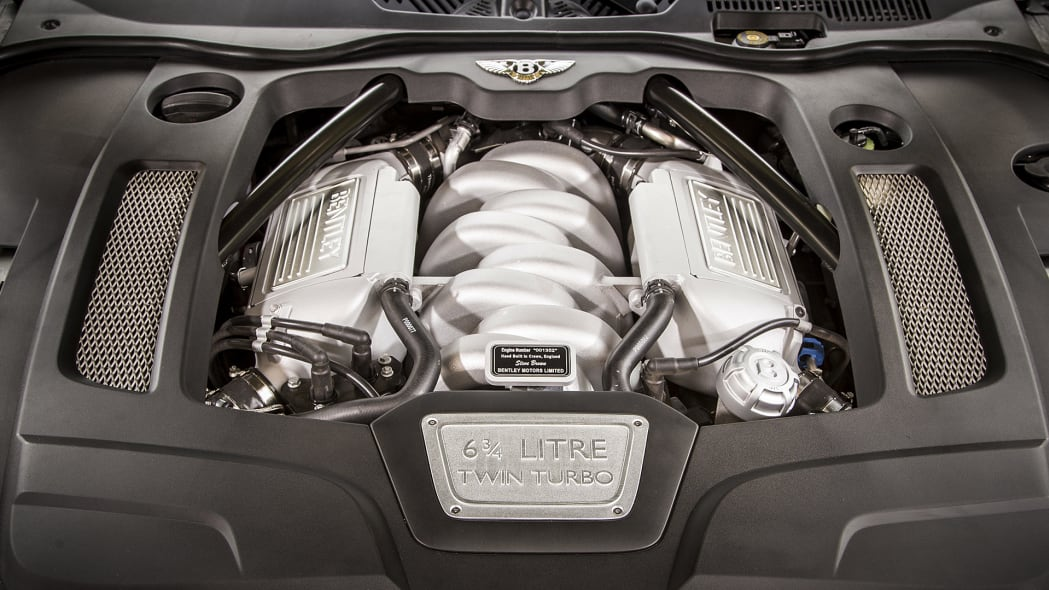 2017 Bentley Mulsanne engine