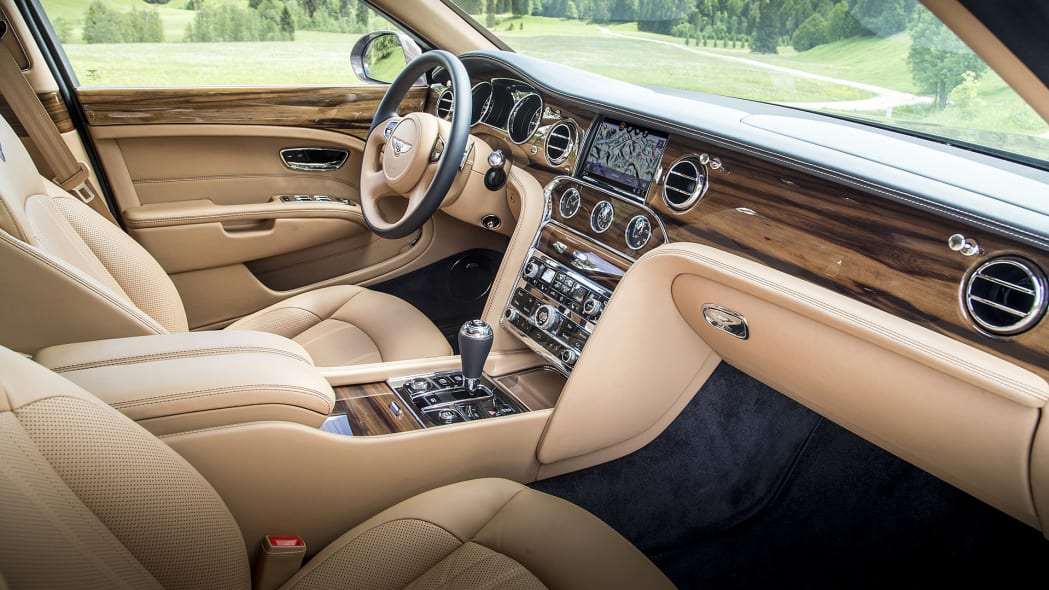 2017 Bentley Mulsanne interior