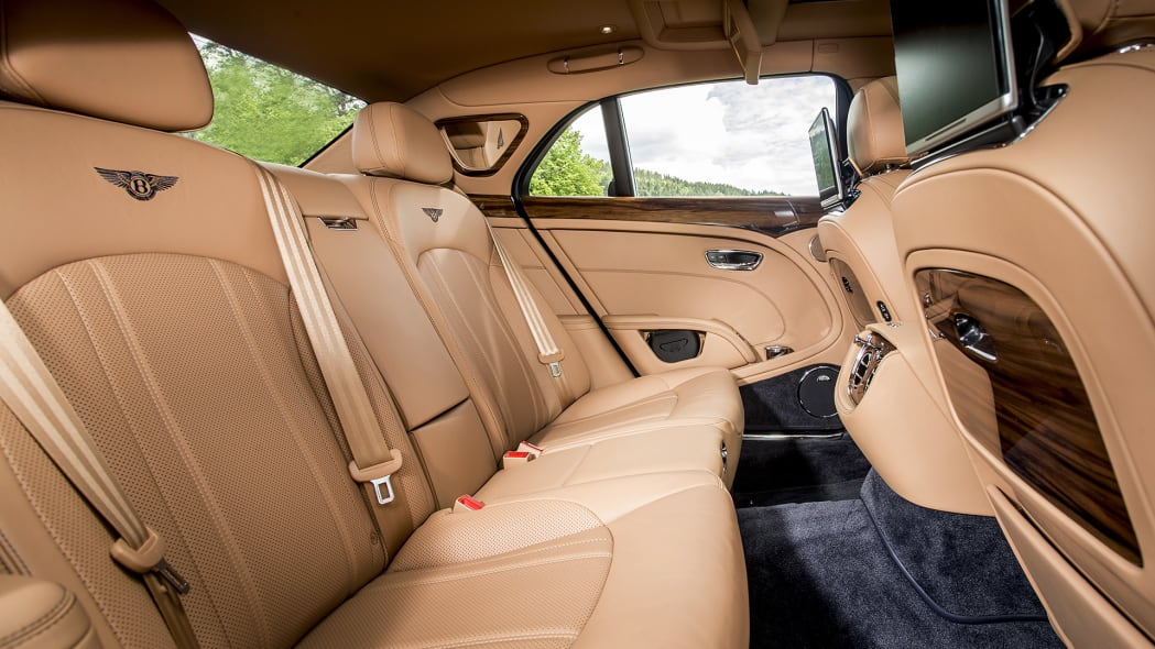 2017 Bentley Mulsanne rear seats