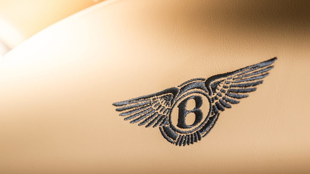 2017 Bentley Mulsanne seat detail