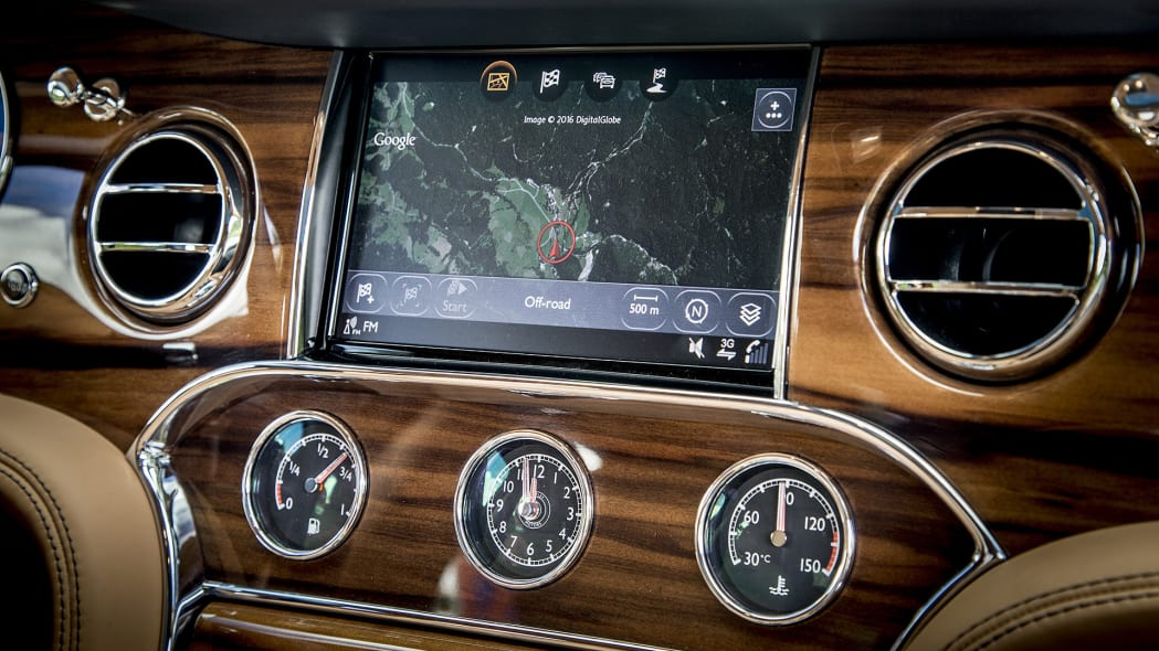 2017 Bentley Mulsanne navigation system