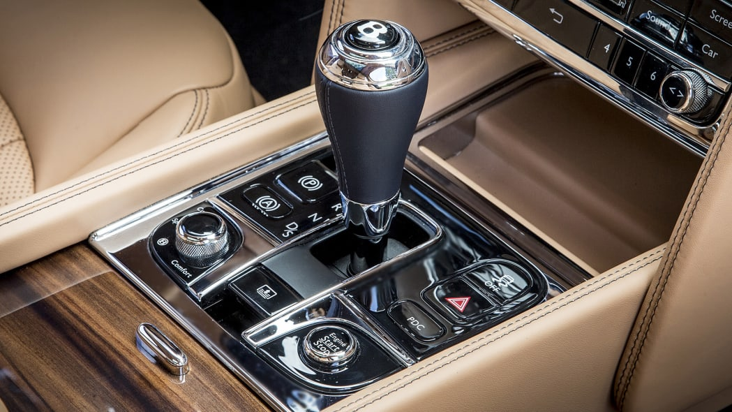 2017 Bentley Mulsanne shifter