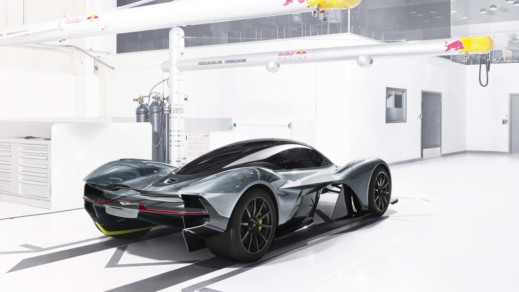 aston martin am-rb 001 rear