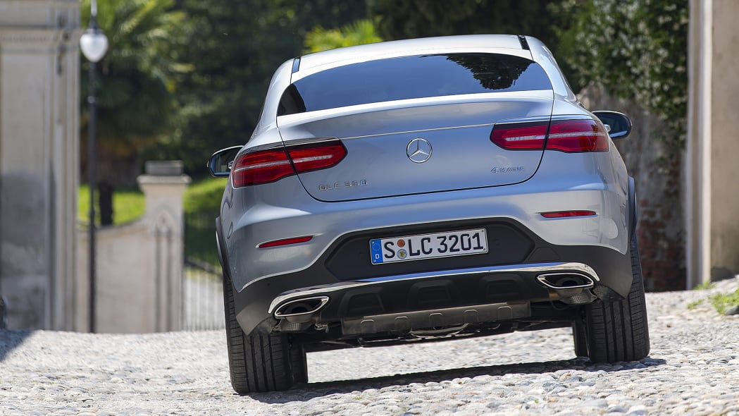 2017 Mercedes-Benz GLC300 Coupe rear view