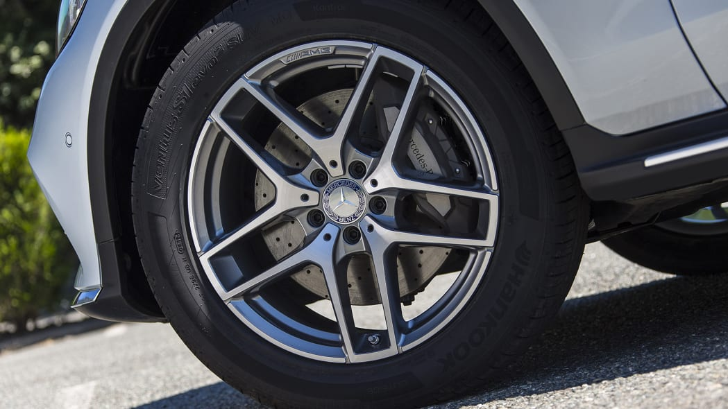 2017 Mercedes-Benz GLC300 Coupe wheel