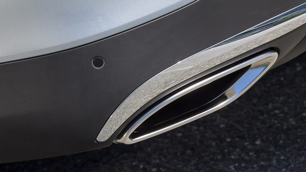 2017 Mercedes-Benz GLC300 Coupe exhaust tip