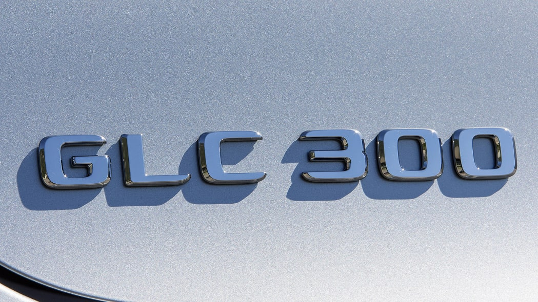 2017 Mercedes-Benz GLC300 Coupe badge