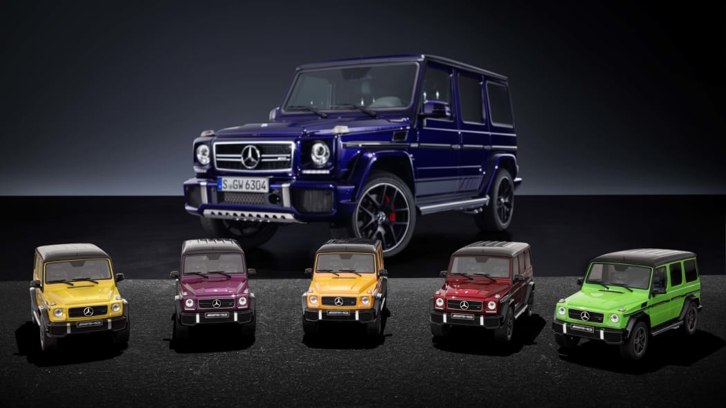 Mercedes-AMG G63 Crazy Color Model