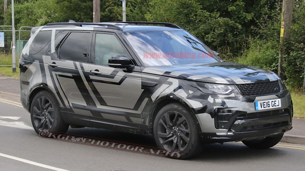 Land Rover Discovery spy photo