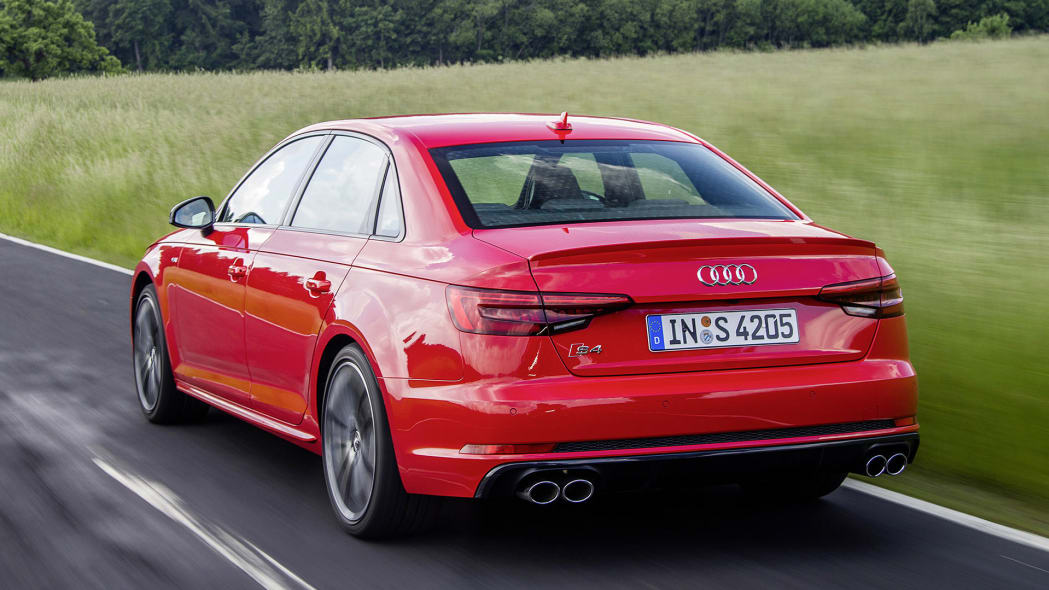 2017 Audi S4 driving