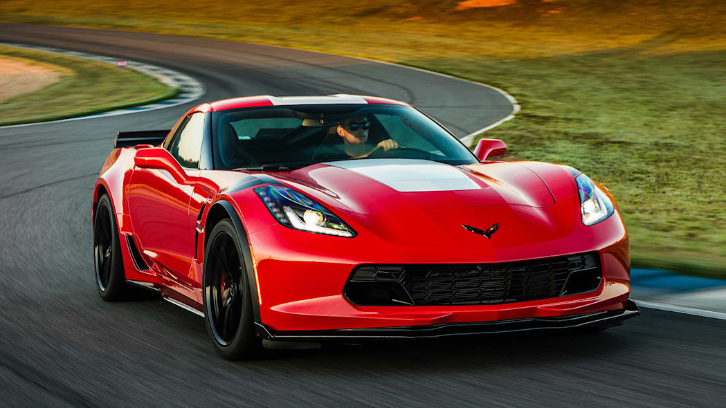 2017 Chevrolet Corvette Grand Sport driving