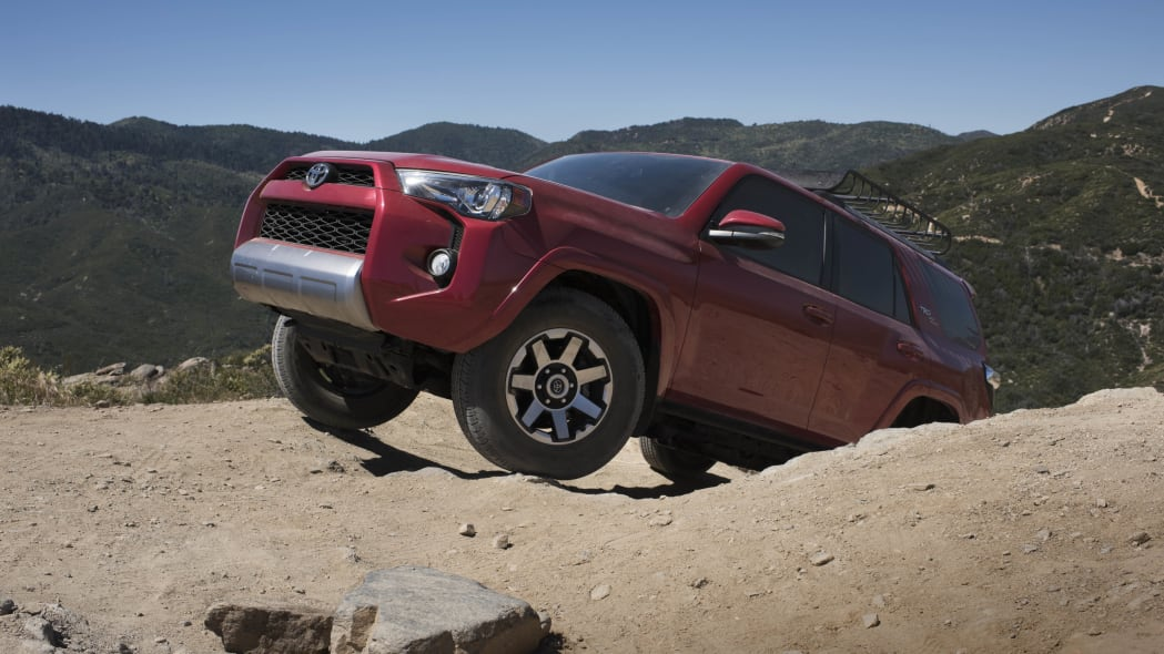 2017 Toyota 4Runner TRD Off-Road Models Exterior Front