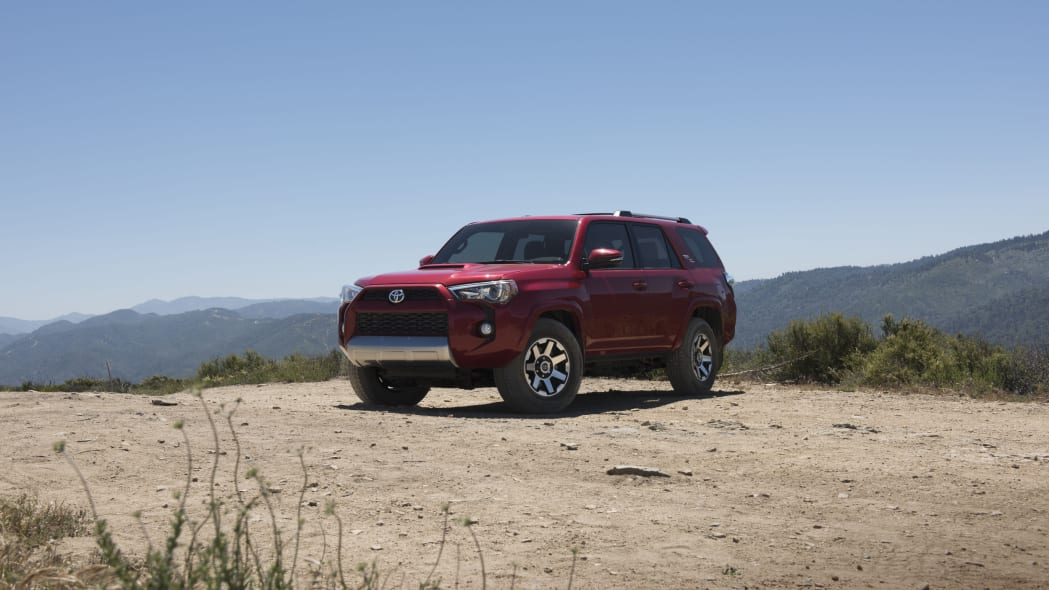 2017 Toyota 4Runner TRD Off-Road Exterior Front