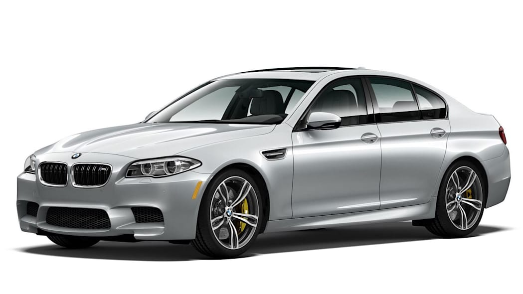 BMW M5 Pure Metal Silver Limited Edition Front Exterior