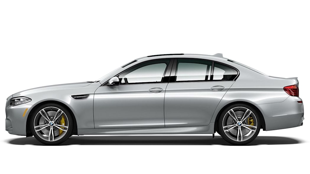 BMW M5 Pure Metal Silver Limited Edition Side Exterior