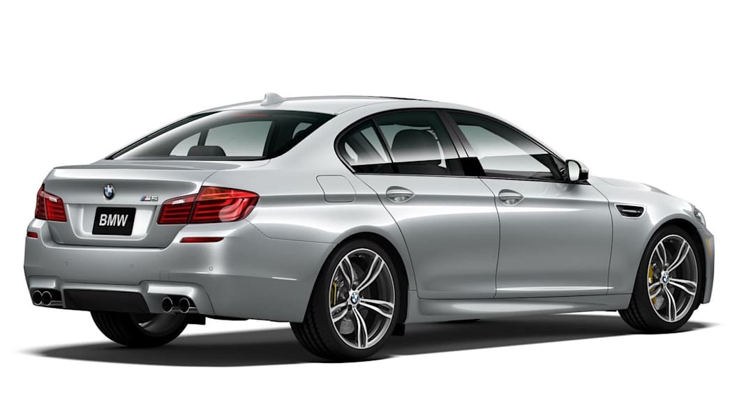 BMW M5 Pure Metal Silver Limited Edition Rear Exterior