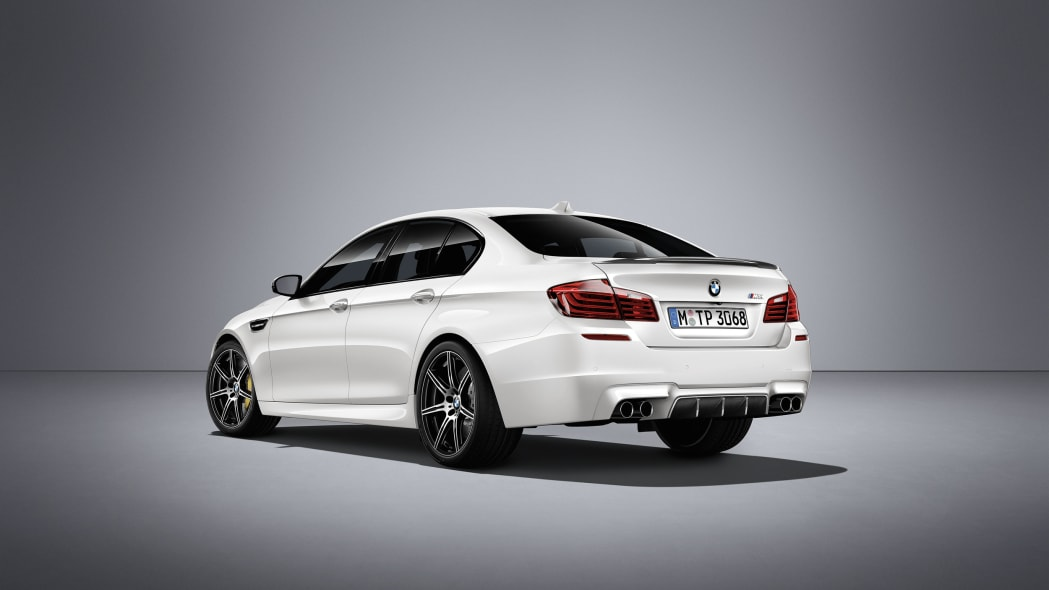BMW M5 Competition Edition Exterior Rear