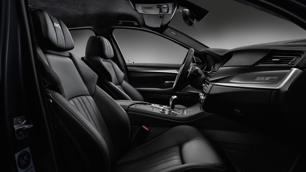 BMW M5 Competition Edition Interior