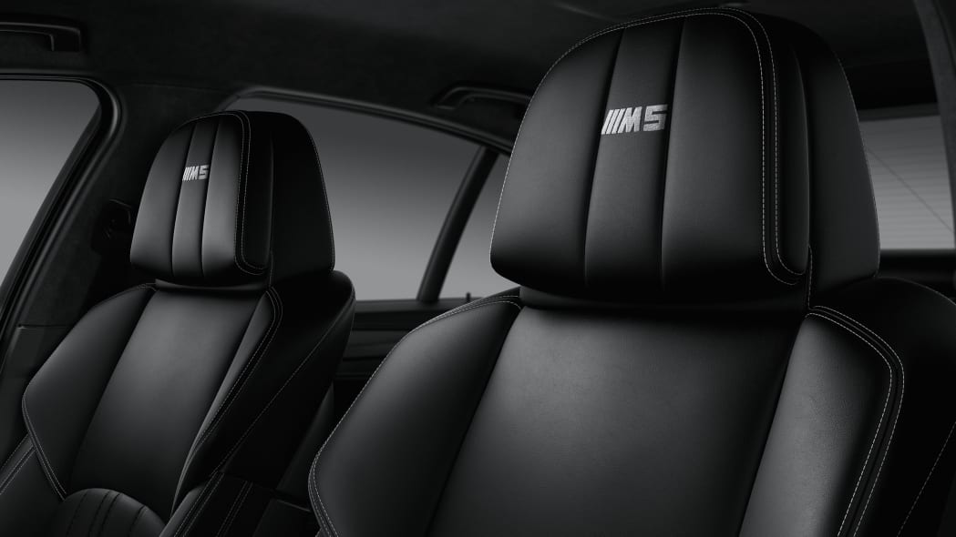 BMW M5 Competition Edition Headrest Interior