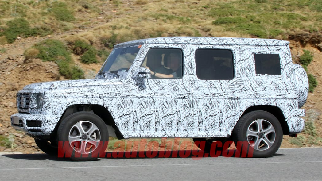 Mercedes-Benz G-Class Spy Photo