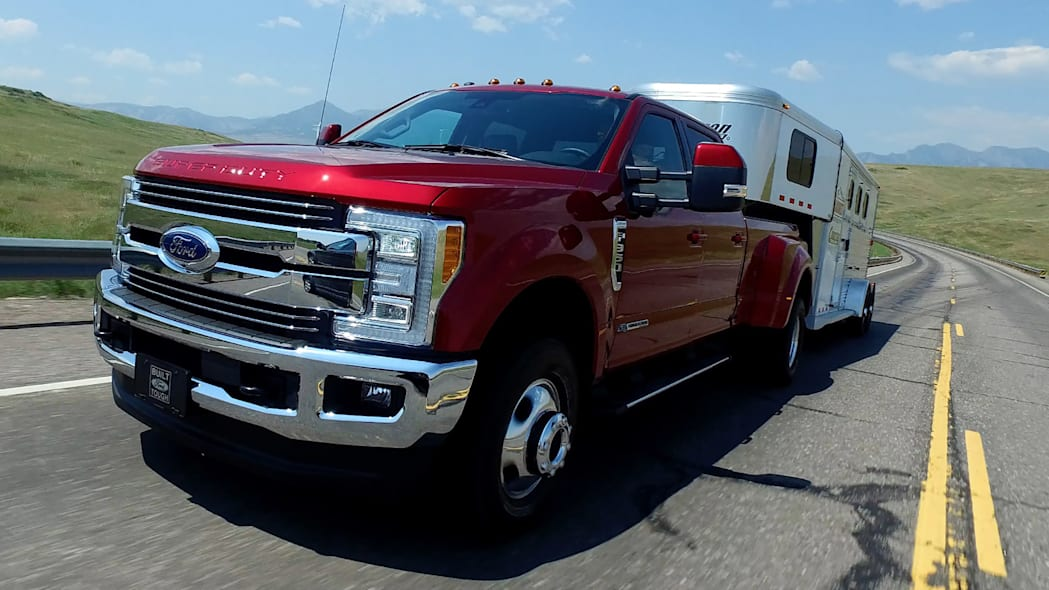 2017 Ford F-Series Super Duty towing