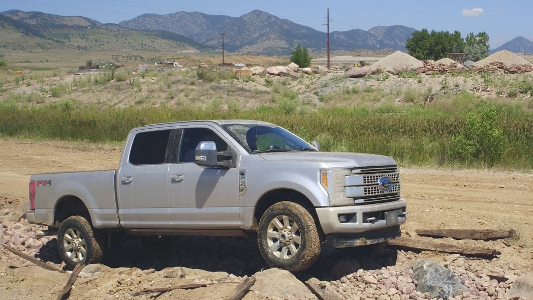 2017 Ford F-Series Super Duty off-road