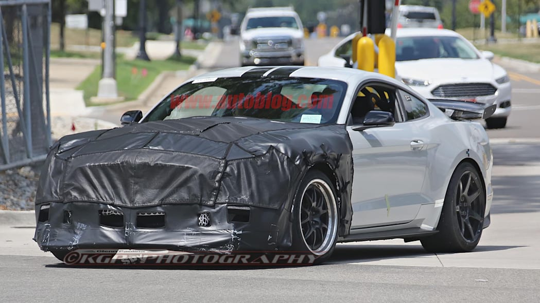 Ford Shelby GT500 Mustang Spy Front Exterior