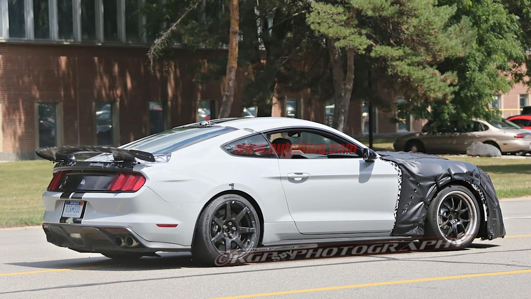 Ford Shelby GT500 Mustang Spy Side Exterior