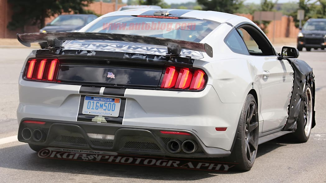 Ford Shelby GT500 Mustang Spy Rear Exterior