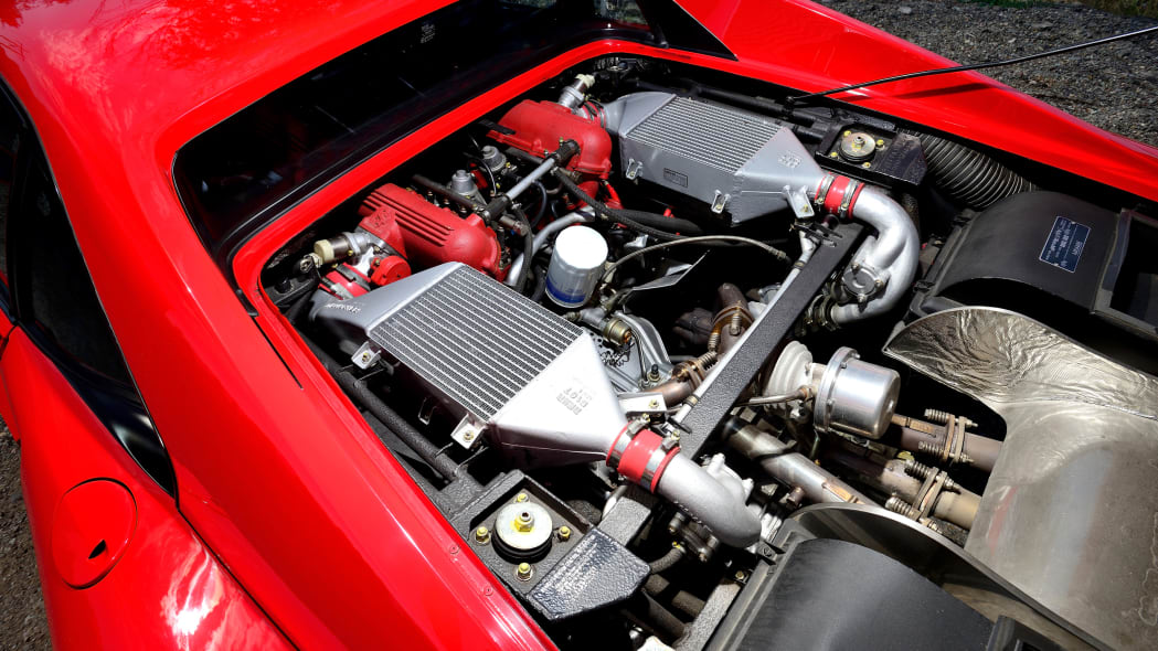1985 FERRARI 288 GTO Engine Bay