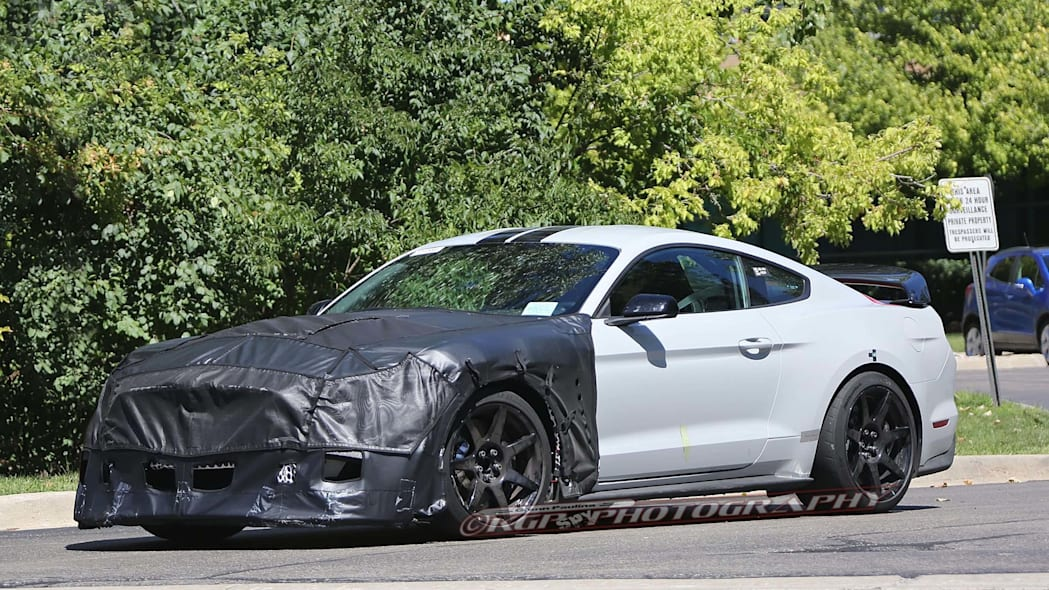 ford shelby gt500 mustang side