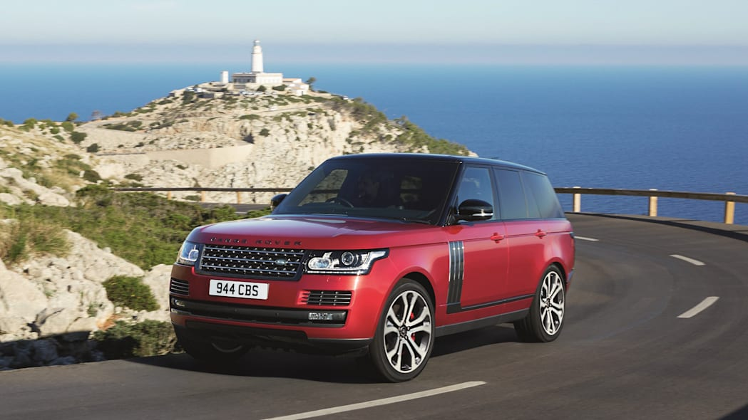 Range Rover SVAutobiography Dynamic Front Exterior