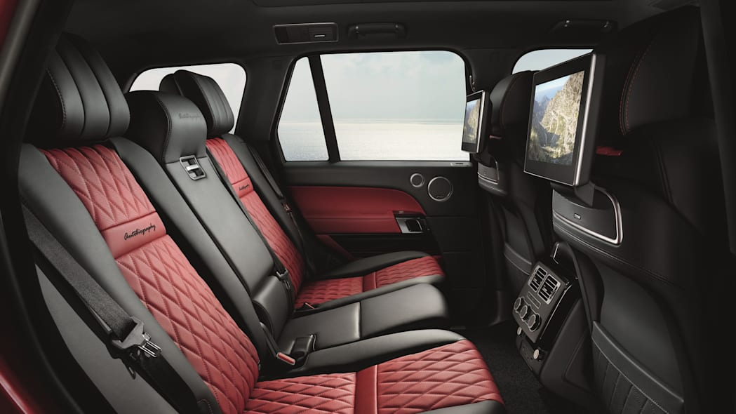 Range Rover SVAutobiography Dynamic Rear Seats Interior