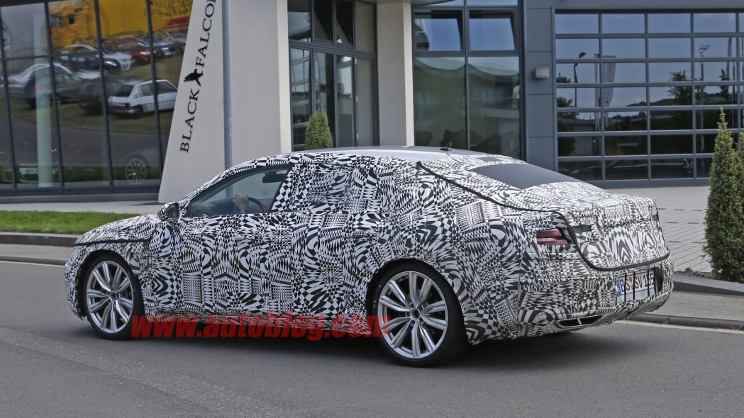 2018 Volkswagen CC Spy Shot Side Exterior