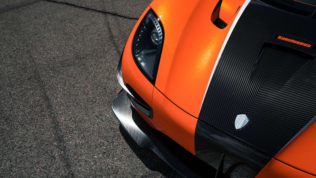 Koenigsegg Agera XS Front End Close Up Exterior