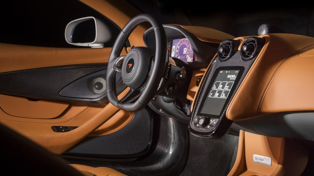 McLaren 570GT by MSO Concept Dashboard Close Up Interior