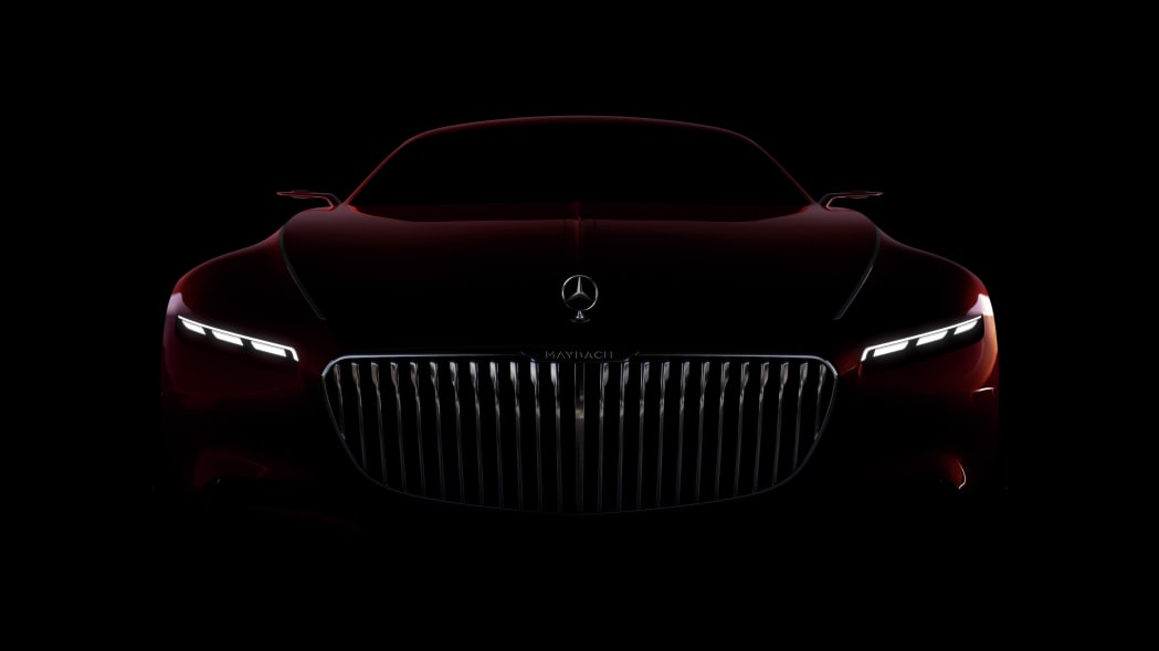 Vision Mercedes Maybach 6 grille