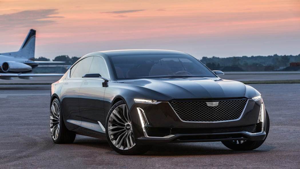 Cadillac Escala Concept front three quarter
